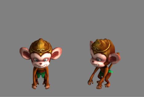 小猴子打球_小猴子