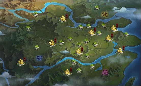 决战九州最新地图抢先看 天选之子的降临,让三国历史发生了改变.
